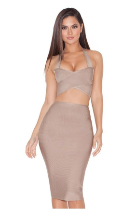 Justifying the cost by the fact that you can also wear this two piece separately. GENIUS! @houseofcb Cost: $100