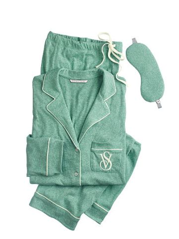 Victoria's Secret https://www.victoriassecret.com/sleepwear/most-loved-pjs/the-sleepover-knit-pajama?ProductID=303893&CatalogueType=OLS