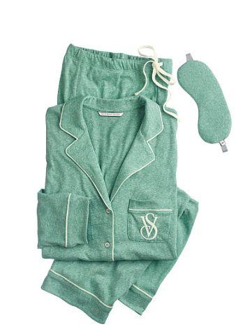 Victoria's Secret https://www.victoriassecret.com/sleepwear/most-loved-pjs/the-sleepover-knit-pajama?ProductID=303893&CatalogueType=OLS